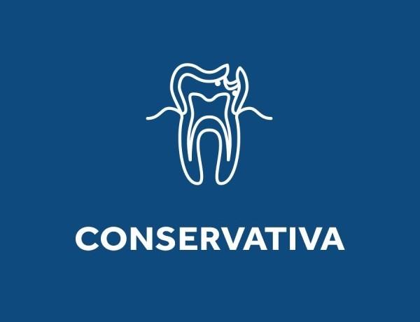 Logo trattamento di odontoiatria conservativa, presso lo studio dentistico Dental Competence di Grosseto