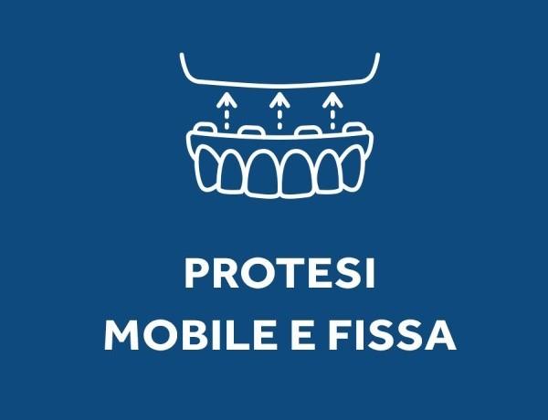 Logo installazione protesi dentarie mobili e fisse, presso lo studio dentistico Dental Competence di Grosseto